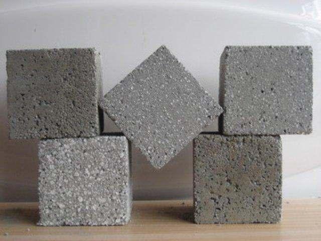Bê tông nhẹ hạt xốp